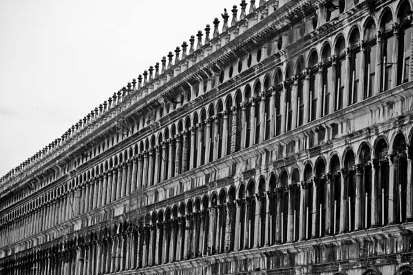 stmarksfacade  -  black and white photography for sale