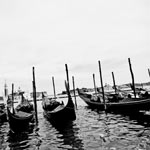 Venezia, Italy black and white photography for sale