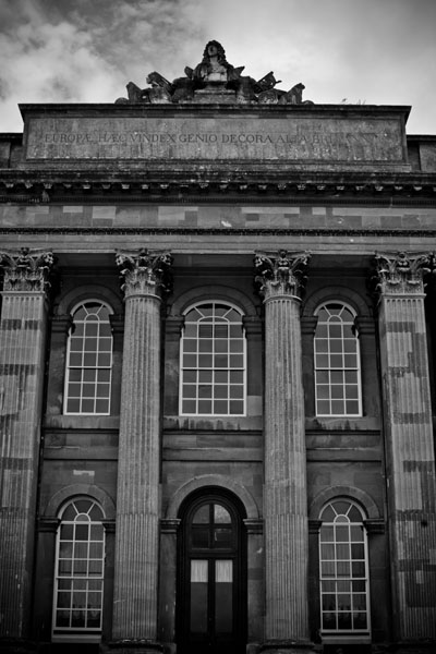 atblenheim  -  black and white photography for sale
