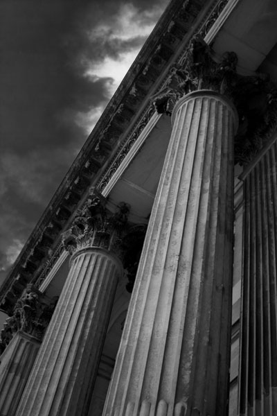 blenheimcolumns black and white photography