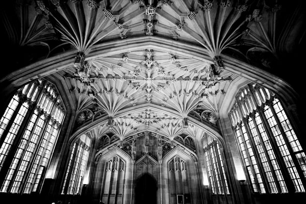 bodleiandivinity black and white photography