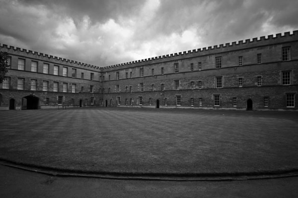 newcollege black and white photography