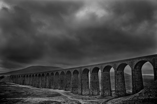 Ribblehead2 black and white photography