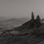 isleofskye black and white photo