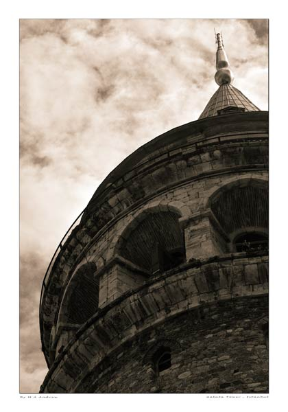 galata  -  black and white photography for sale