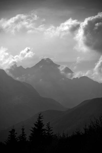 inthemountains - High up in the mountains Northern Tuscany - black and white photography