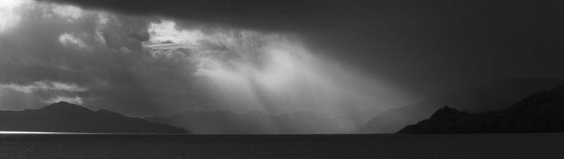 lochfyne black and white photography