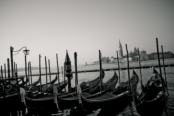 Morningacrossvenice black and white photography