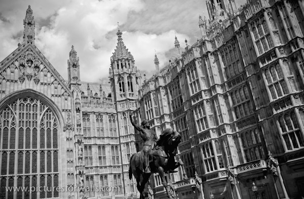 palaceatwestminster3 black and white photography