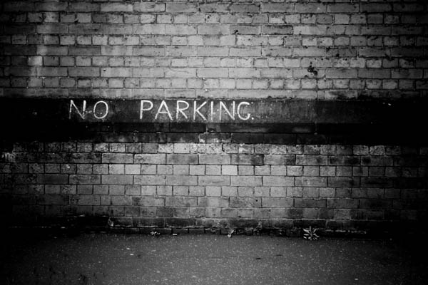 noparking print for sale