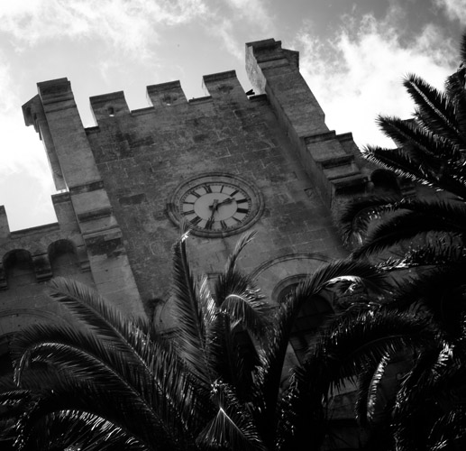 ciutadellatownhall  -  black and white photography for sale