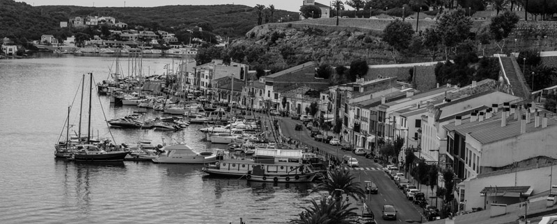 harbouratmahon  -  black and white photography for sale