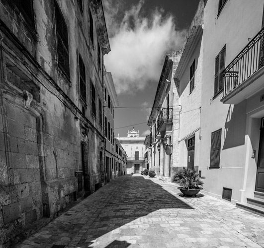 oldtownciutadella print for sale