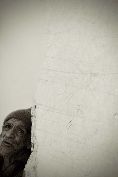 beggar  -  black and white photography for sale