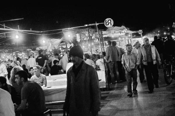 nightfallsatfna  -  black and white photography for sale