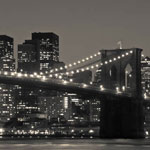 newyork black and white photo