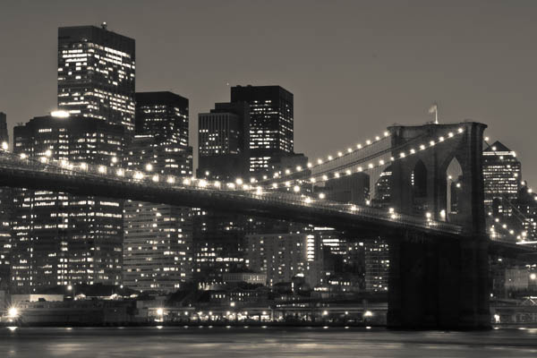 brooklynbridgelights print for sale