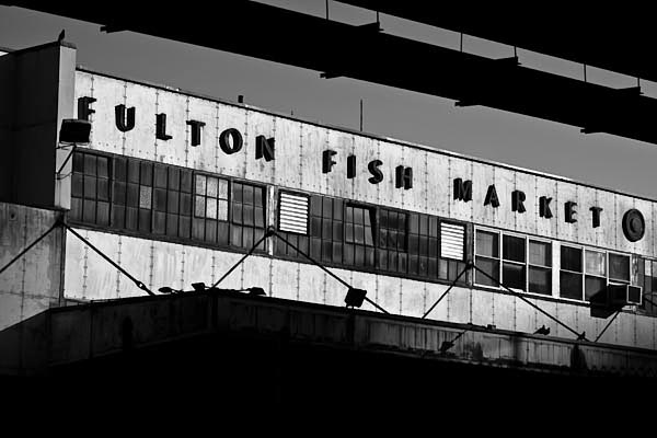 fultonfishmarket print for sale