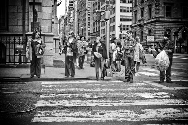 busystreets black and white photography