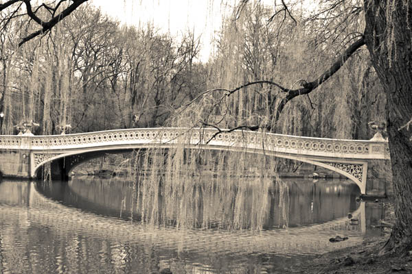 centralparkbridge print for sale