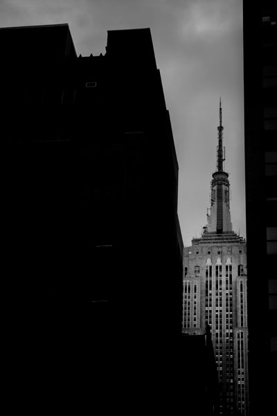 empirestate black and white photography