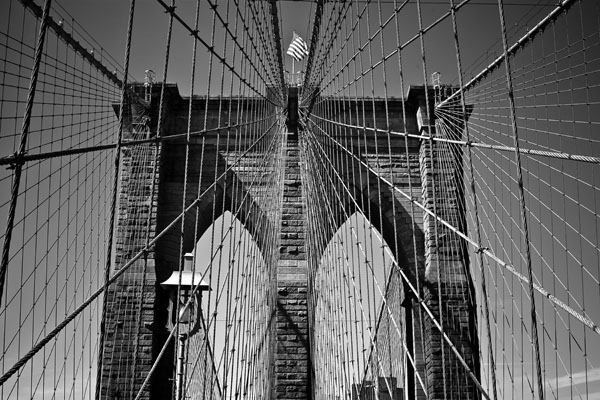 onthebridgenyc black and white photography