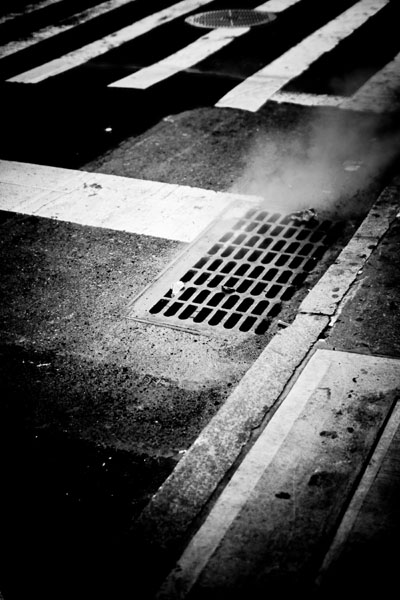 steam black and white photography