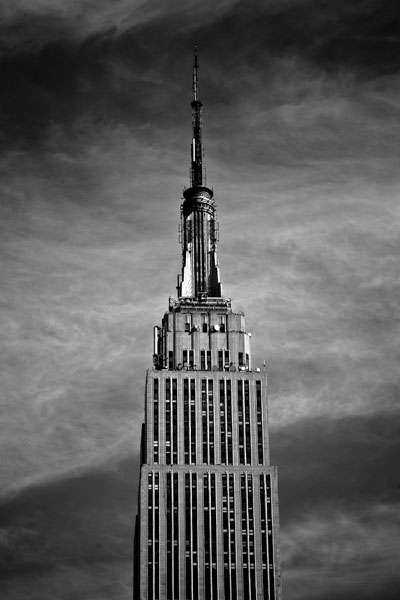 theempirestate black and white photography
