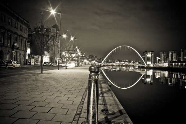 newcastleatnight print for sale