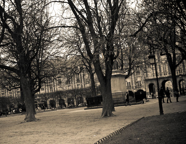 inthecourtyard  -  black and white photography for sale