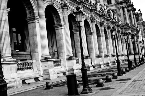 Black And White Images Paris