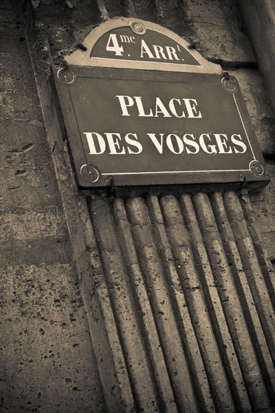 placedevosges2  -  black and white photography for sale