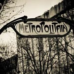 City of Paris black and white photography