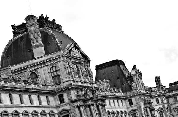 atthelouvre print for sale