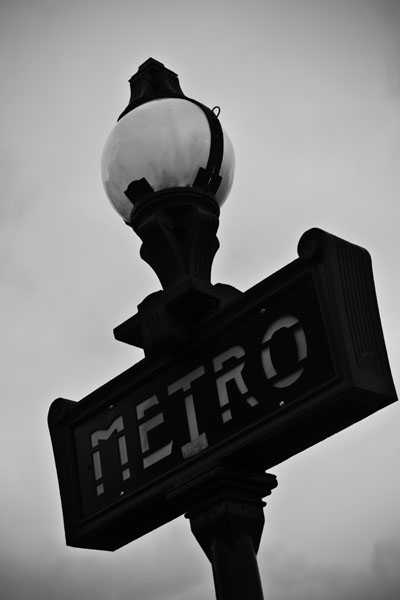 metro  -  black and white photography for sale