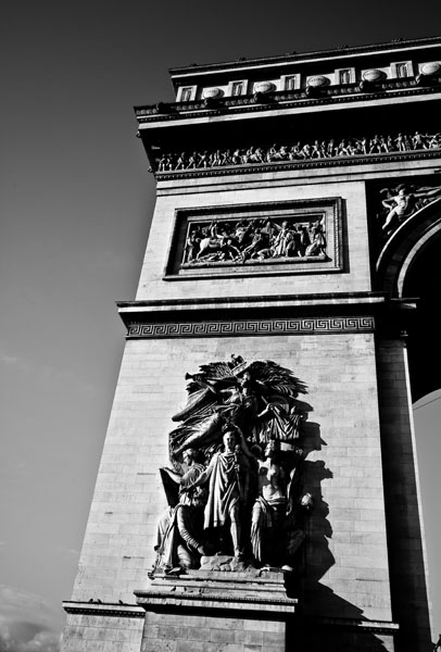triomphe2  -  black and white photography for sale