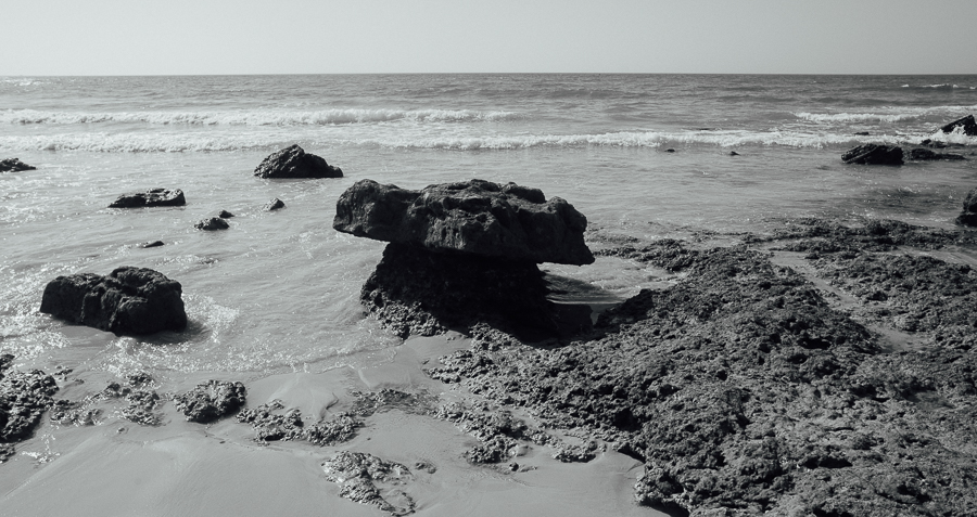 mushroomrock  -  black and white photography for sale