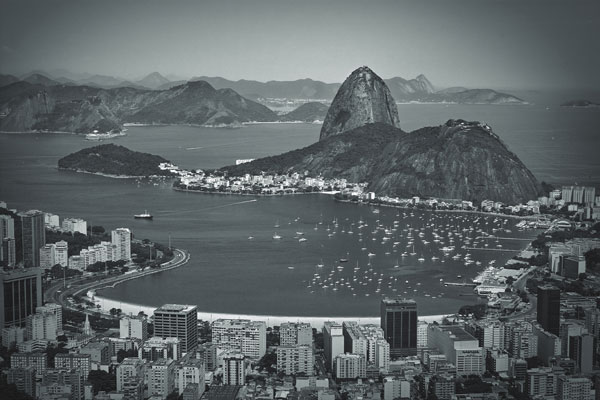 botafogo black and white photography