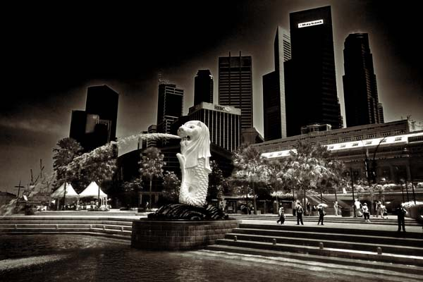 singapore  -  black and white photography for sale