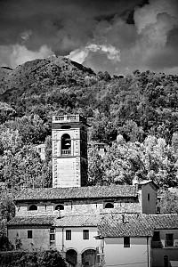 tuscany - Black and White