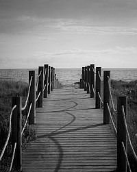 boardwalk - print for sale