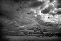 bamburgh - print for sale