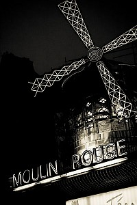moulinrouge - Black and White
