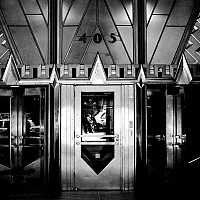 405 - Front entrance to the Chrysler Building, New York