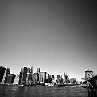 bridgeandmanhattan - black and white photography for sale