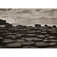 causeway - The Giant's Causeway on the Antrim Coast, Northern Ireland -  print for sale
