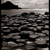 causeway2 - The Giant's Causeway on the Antrim Coast, Northern Ireland -  print for sale