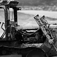 lefttorot - Discarded machinery left to the elements,2004 -  print for sale
