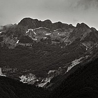 mountainformation - Italian Mountains, Tuscany Italy -  print for sale