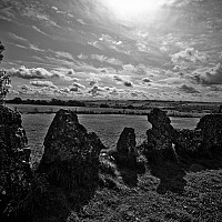 rottenteeth - Rollright stones, Oxford date back to the Bronze age. -  print for sale